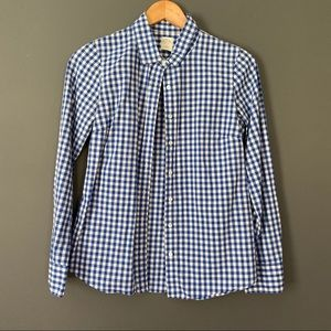 JCrew perfect shirt in gingham